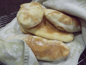 Pitta bread.